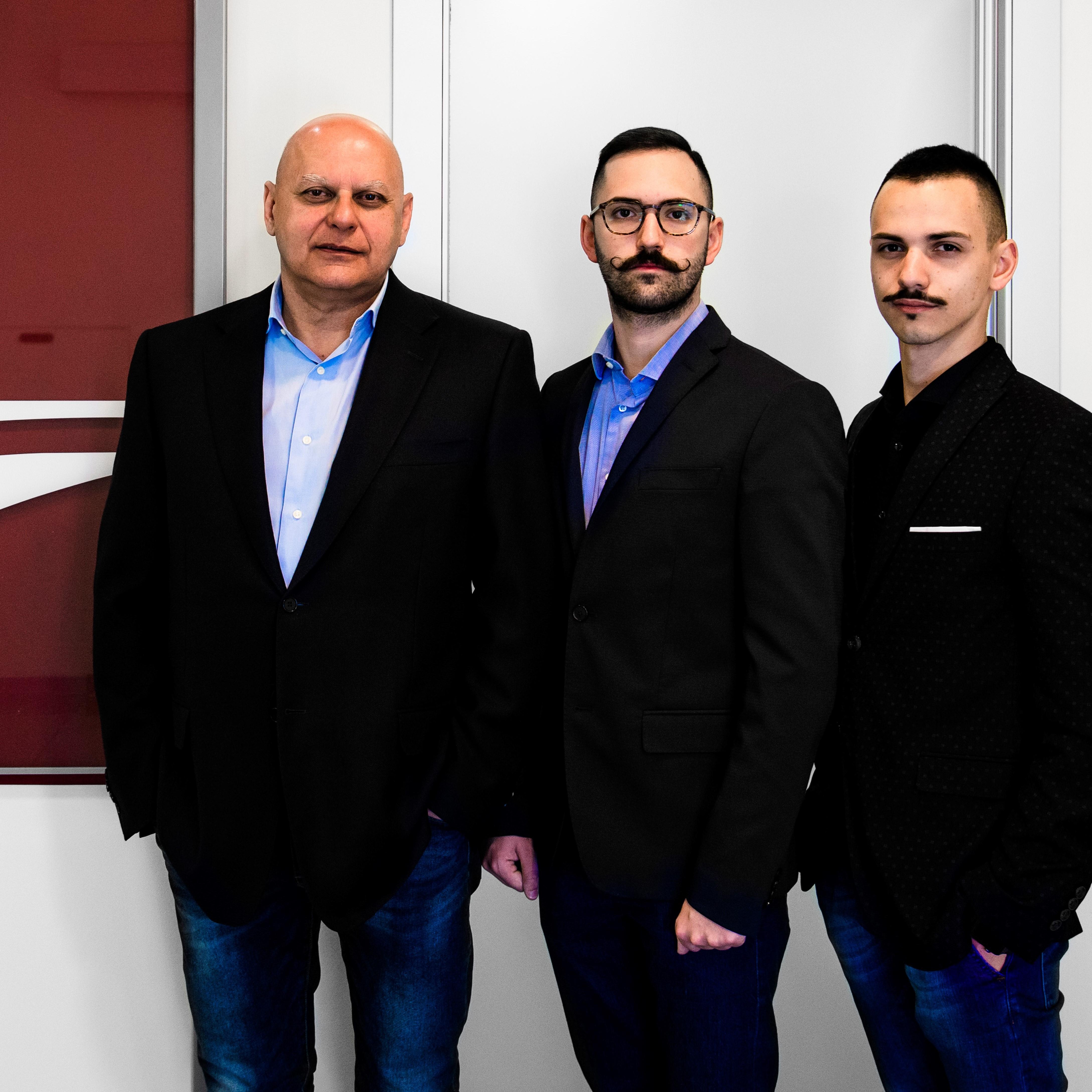 Giorgio, Stefano e Francesco Moretti
